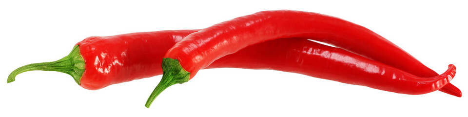 Red chili pepper.