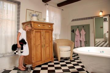 Badezimmer romantisch