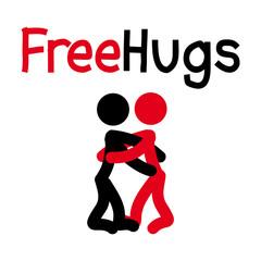 Free Hugs - Lass dich umarmen