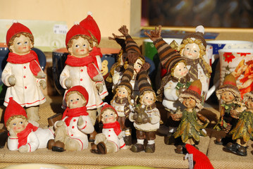 Statuette e decorazioni natalizie