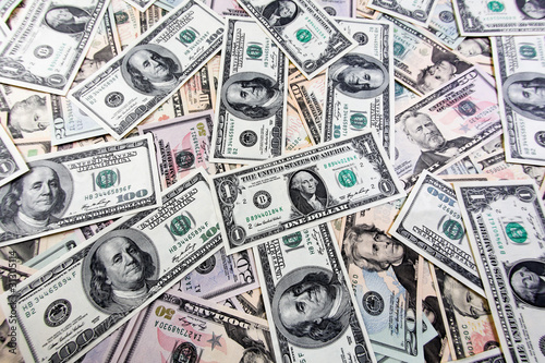 Amerikanische Dollar Geldscheine