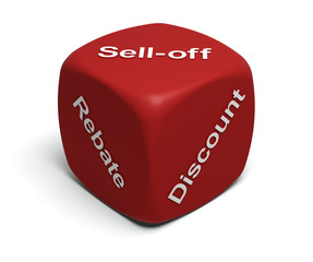 Rebate, Discount, Sell-off