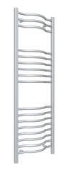 Standing chrome towel holder rack and rails