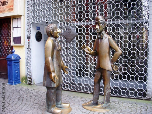 Sculpture in Altmarkt, Cologne