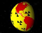 virtueller globus zum thema atomenergie v amerika