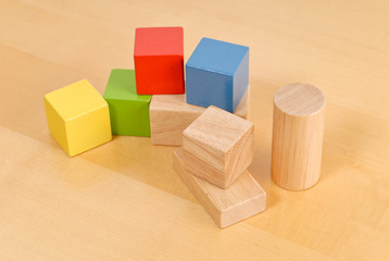 Pre-School Toy Building Blocks
