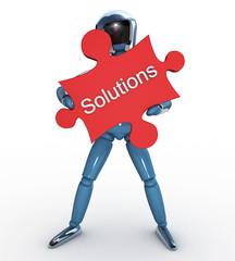 Robot puzle Solutions