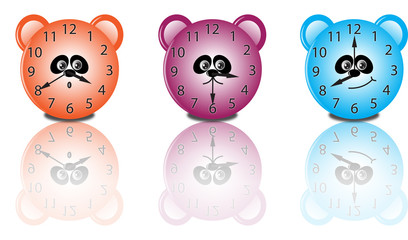 Smiling clocks