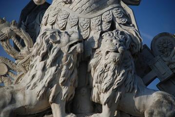 Gloriette, Schönbrunn, statue detail