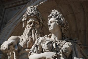 Statua di Zeus e Giunone, Vienna