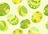 Seamless egg pattern