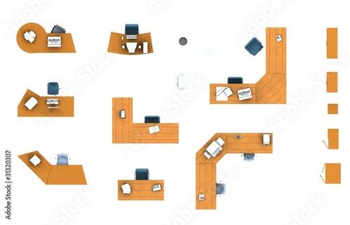 Furniture Floor Plans office furniture plans. design element office layout plan