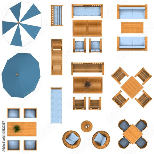 Furniture Floor Plans landscape gardening