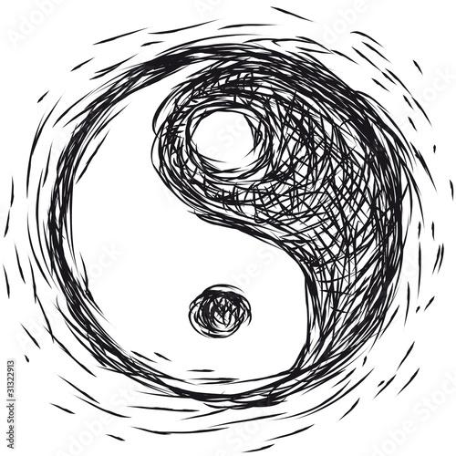 simbolo ying yang © robodread