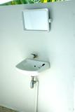 Small hand wash basin. poster