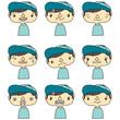 男の子表情
