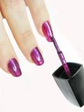 nail polisher making manicure
