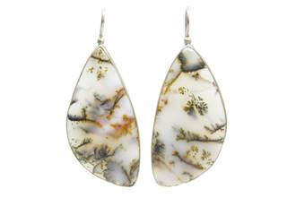 agate semigem jewellery earrings
