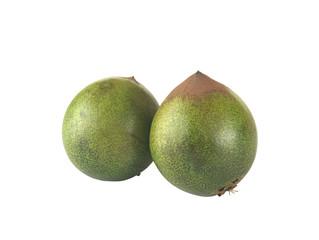 Peruvian fruit called Lucuma (lat. Pouteria lucuma)