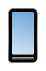 Abstract vector mobile phone