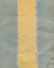 Torn dirty paper