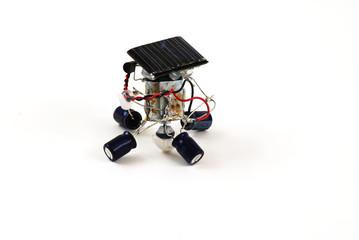 solar energy robot