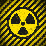 Sign radiation. Vector illustration. Eps10