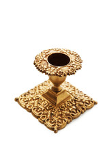 Antique old candlestick