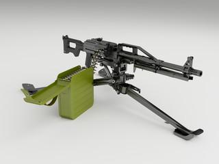 Пехотный пулемёт печенег на станке
