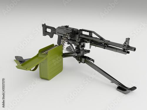 6П41С - станковый пулемет