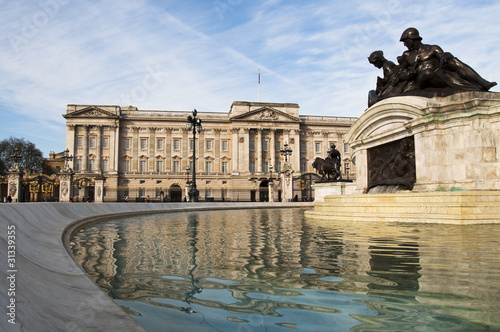Leinwanddruck Bild Buckingham Palace