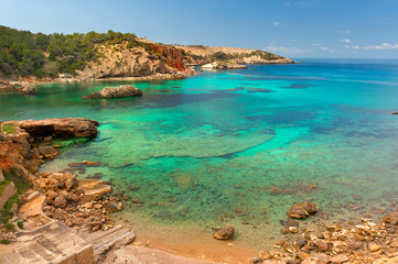 Cala Xarraca,  Ibiza Spain