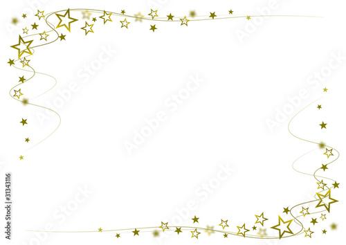 kleine Sterne Gold