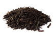 Heap of dred  black tea leave