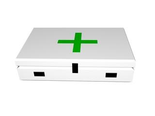 Botiquín médico cruz verde