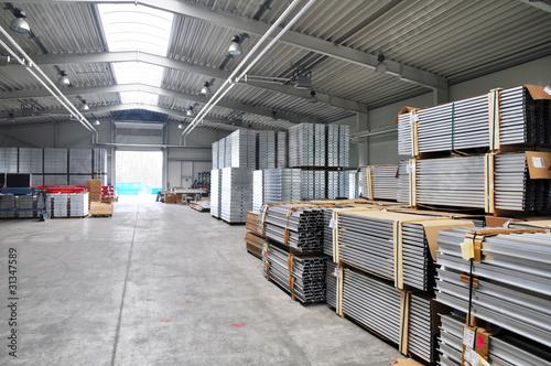 Lagerhalle Industrie Metallverarbeitung - 31347589