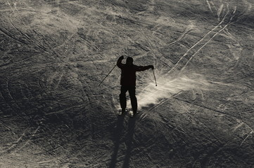 Skiing in Kuthai