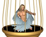 Captive Male Angel poster
