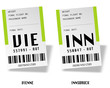 Airport bag tags - Autria