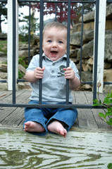 Caged Baby