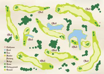 ゴルフコース図02