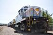 Diesel Locomotive in Scranton, PA, USA