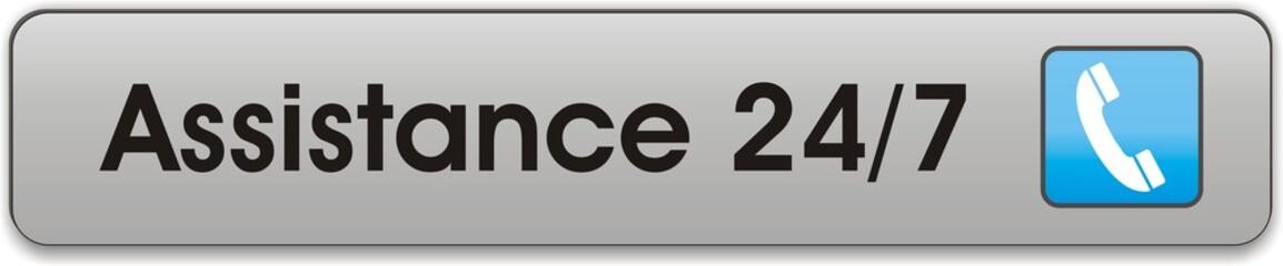 bouton assistance 24/7