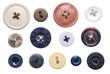 canvas print picture - old-fashioned buttons