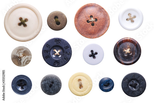 canvas print picture old-fashioned buttons