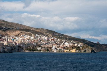 Ano Syros in Greece