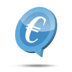 3d euro icon