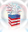 Happy 4th July vector illustration