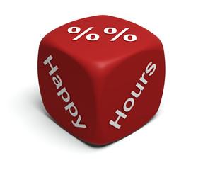 Happy, Hour, Percent