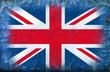 bandiera regno unito vintage